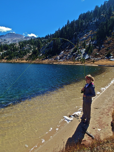 fly fishing in yosemite